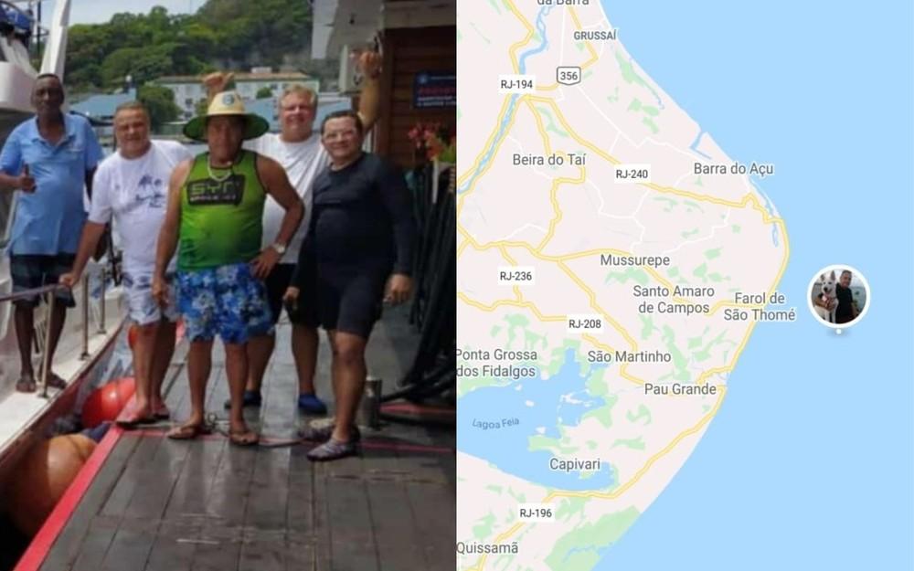 O que se sabe sobre o grupo que desapareceu em lancha entre o Rio de Janeiro e Fortaleza
