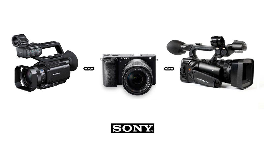 Como configurar el perfil de color de la Sony a6300 y la Sony Z150 o X70 para una grabación a dos cámaras