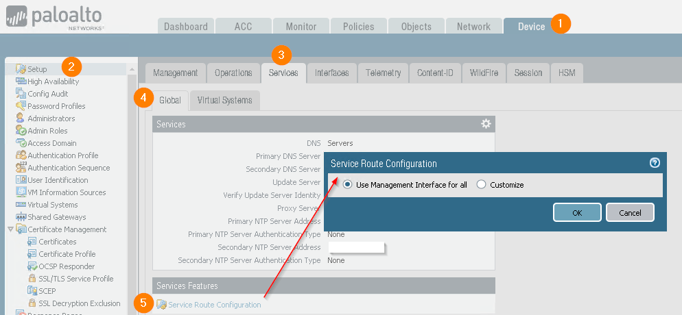 Configure Paloalto Firewall to access External Dynamic List - Series