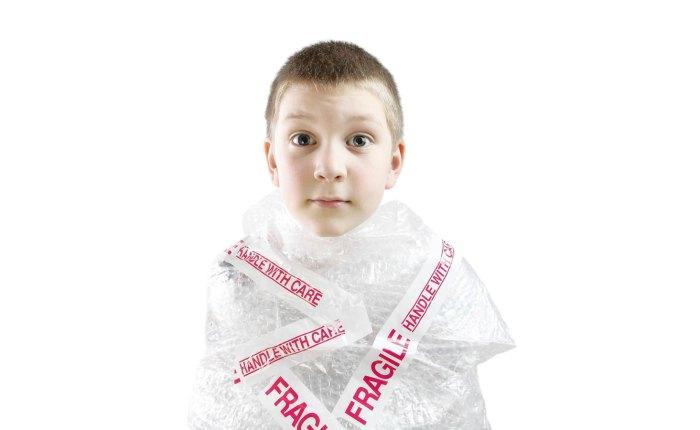 ¿Crees que has sido un niño sobreprotegido?