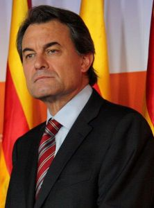 il presidente del Parlamento di catalogna Artur Mas (foto tratta da Wikimedia, autore: Convergència Democràtica de Catalunya)