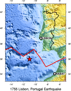 Il terremoto di Lisbona del 1°novembre 1755