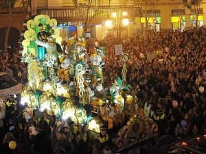Cabalgata de Reyes (fonte: Wikimedia Commons)