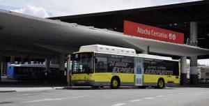 bus aeroporto madrid