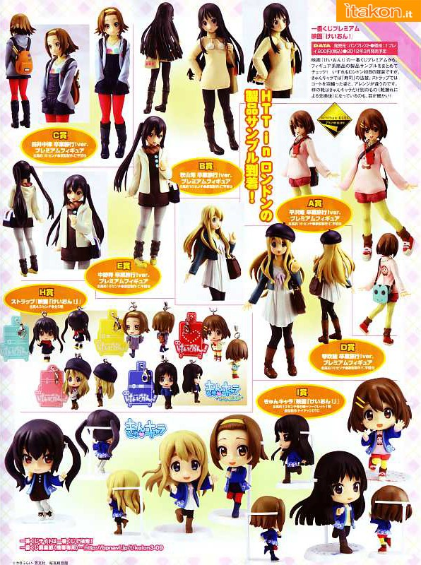 k-on movie ichiban kuji banpresto