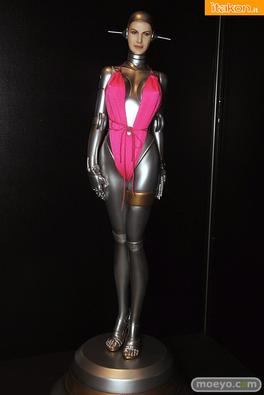 Sexy Robot 001 human face fantasy figure gallery