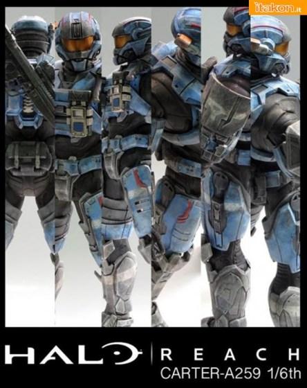 ThreeA Toys: Carter A259 Halo Reach 1:6 Scale Figure