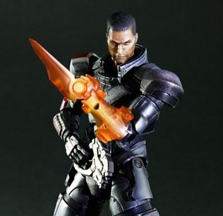 Colonel Sheppard Play Arts Kai