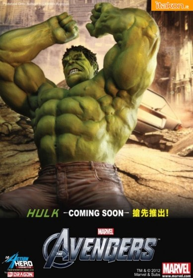 Action Hero/Dragon: Hulk Avengers - 1/9 Scale