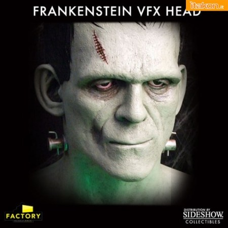 Factory Entertainment: Frankenstein VFX Head Prop Replica - In Preordine