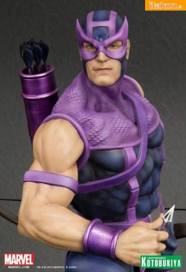 Kotobukiya: Hawkeye Classic Avengers - Fine Art Statue 1/6