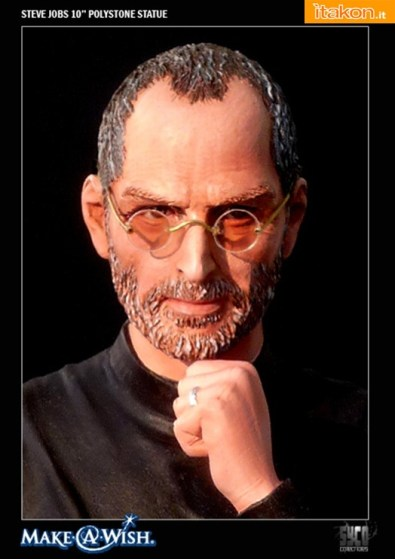 "Syco collectibles: Steve Jobs Commemorative 10"" Polystone Statue"