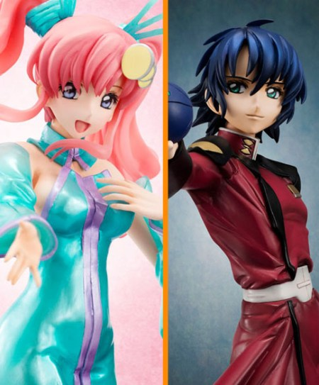 MegaHouse Athrun Zala Lacus Clyne Gundam SEED