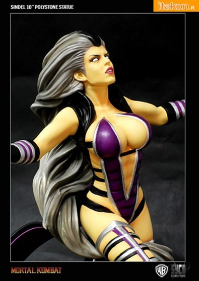 Queen Sindel 10'' Polystone Statue da Syco Collectibles - In Preordine
