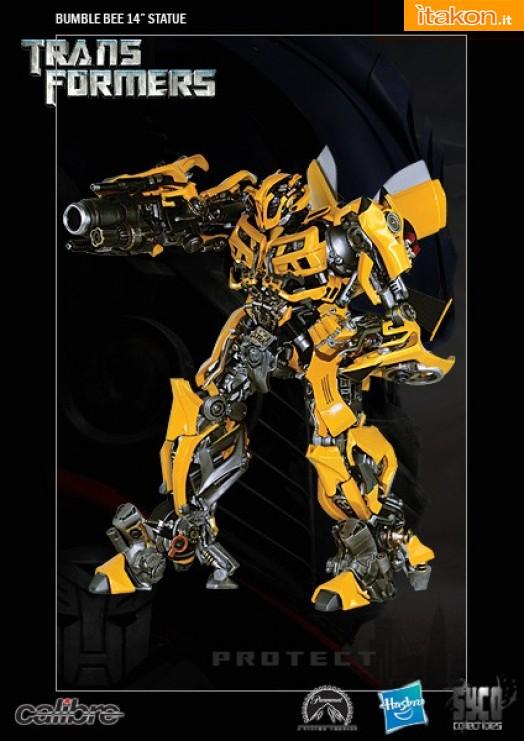 Syco Collectibles: In arrivo le statue di Optimus Prime e BumbleBee - Anteprima