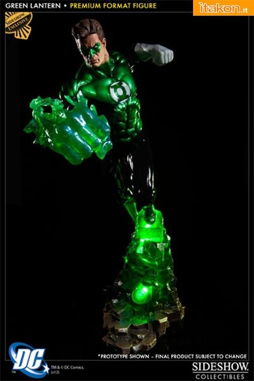 Green Lantern Premium Format Figure da Sideshow - Immagini Ufficiali e Info Preordini