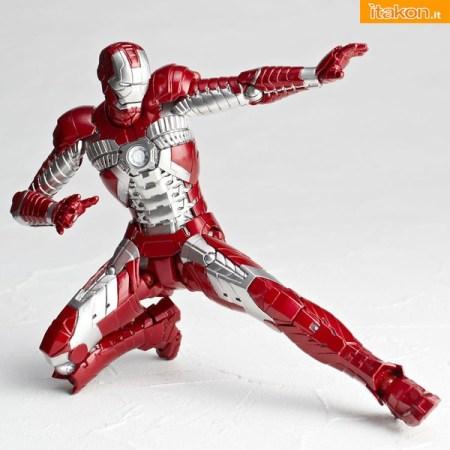 Revoltech SFX 41 Iron Man Mark V da Kaiyodo - Immagini ufficiali