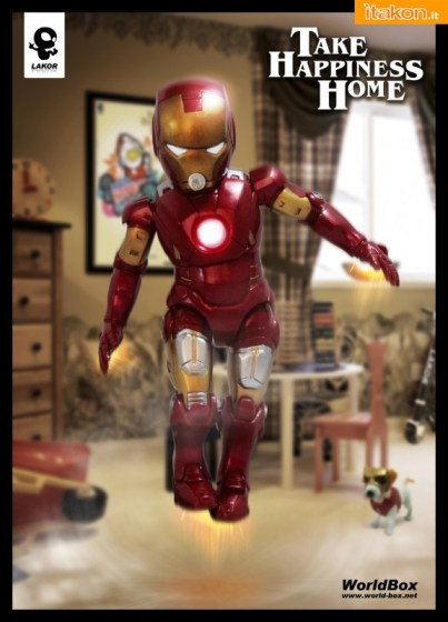 Iron Baby 1/6 da World Box - In Arrivo