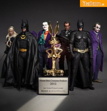 Hot Toys - Warner Bros. Consumer Products 2012: Best Global Products Award