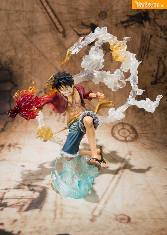 Bandai - One Piece - Luffy - Figuarts Zero 3