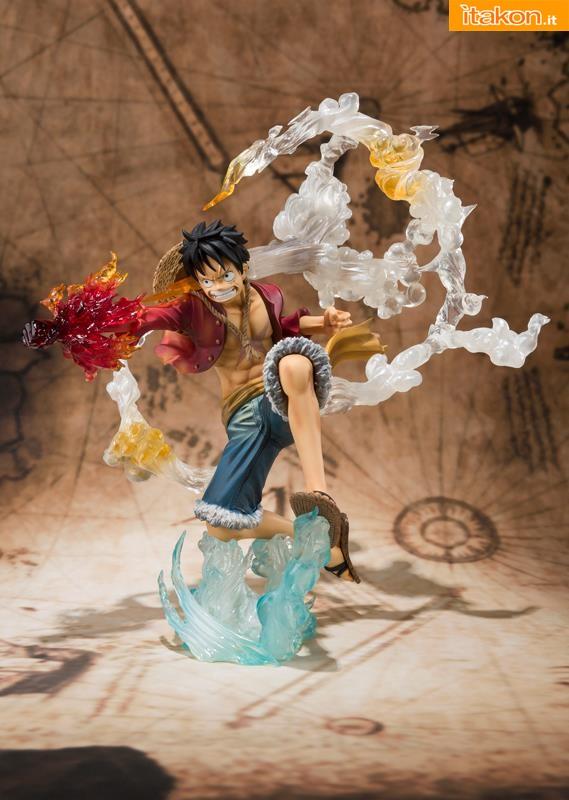 Bandai - One Piece - Luffy - Figuarts Zero 5