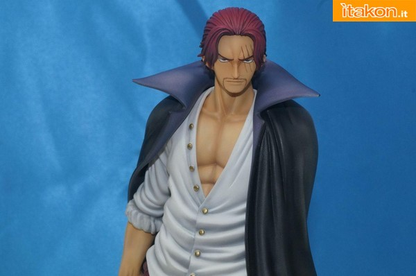 Megahouse - One Piece - Shanks marine ford ver.