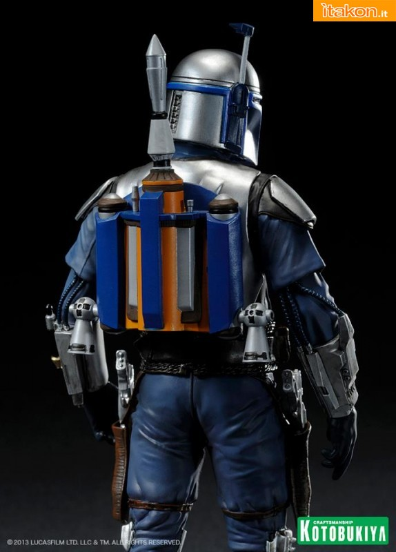 Kotobukiya: Star Wars Jango Fett Attack Of The Clones ARTFX+ Statue - Anteprima