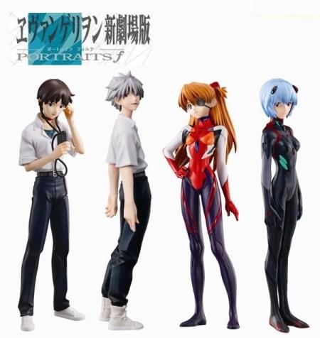Rebuild of Evangelion PORTRAITS PRO 1 - f (forte) - Bandai preordine 20