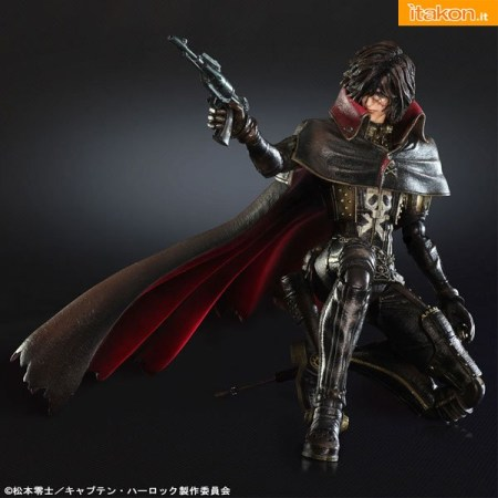 Square Enix: Capitan Harlock Play Arts Kai