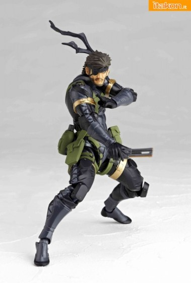 naked snake - revoltech - metal gear solid - ristampa 4