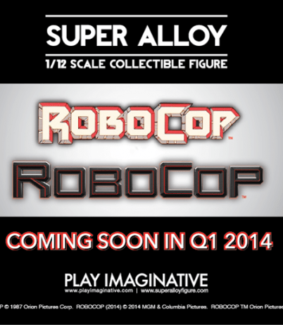 Super Alloy: Robocop 1/12 Collectible Figure di Play Imaginative - Annuncio Ufficiale