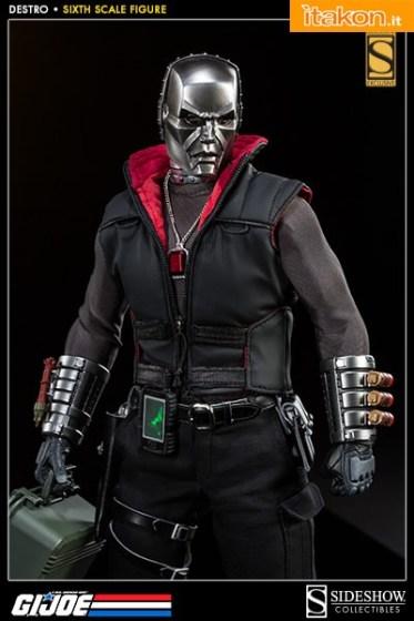 G.I.Joe Destro 16 scale figure di Sideshow  (8)