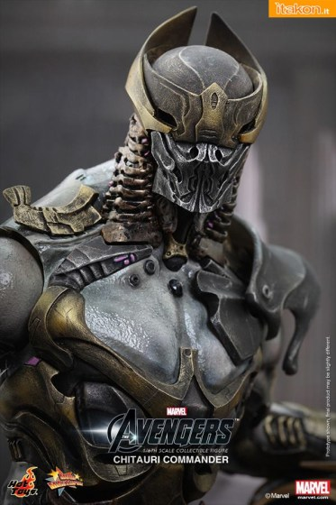 Hot Toys: Chitauri Commander 1/6 scale The Avengers 12