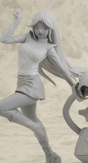 chizuru nanbara - Choudenji Robo Combattler V - ropet - cm s corporation - foto prototipo