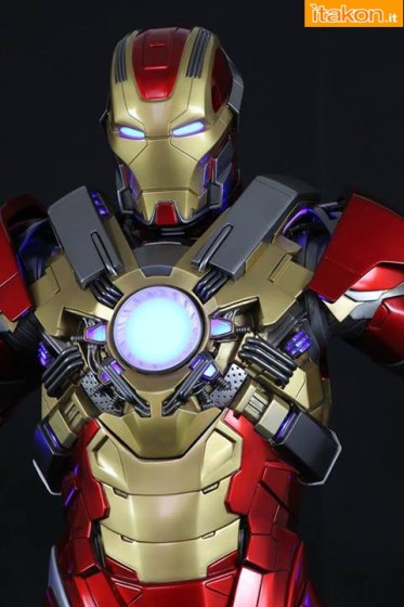 Imaginarium Art: Iron Man Mark XVII HeartBreaker - Nuova Foto Teaser