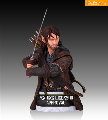 Kili the Dwarf Mini Bust (2)