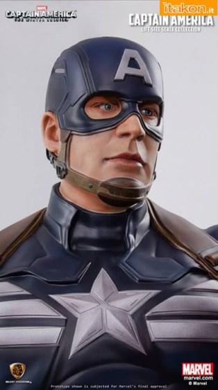 Captain America Life-Size Staue  (5)
