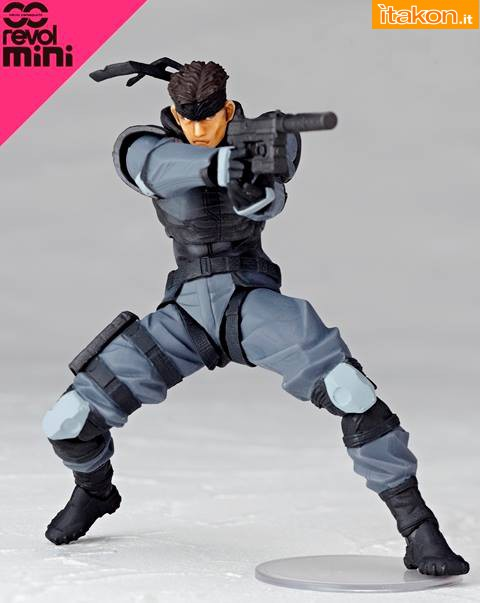 Solid Snake - Revolmini - Kaiyodo - foto ufficiali - 1