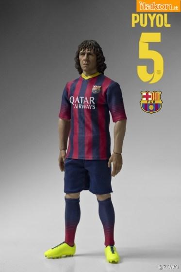 ZCWO/IMINIME: Carles Puyol 1/6 figure Futbol Club Barcelona - Prima Immagine Ufficiale