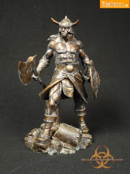 Quarantine Studio: Conan the Brutal Faux Bronze Editio