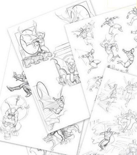 sketches-dc-comics
