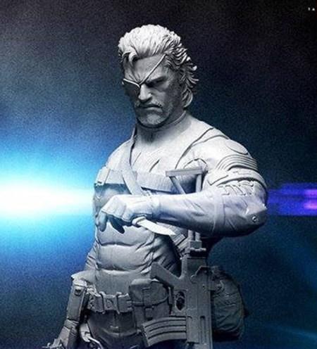 big-boss-snake-mgs-statue