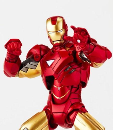Iron-Man MK VI - Iron Man 2 - Legacy of Revoltech Kaiyodo pre 20