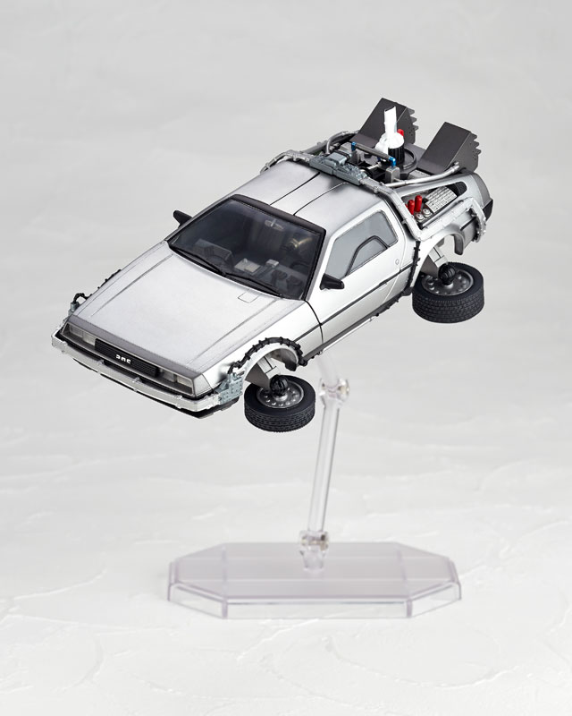 DeLorean Movie REVO - Back to the Future - Kaiyodo preorder 07