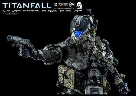 Titanfall IMC Battle Rifle Pilot - ThreeZero 13