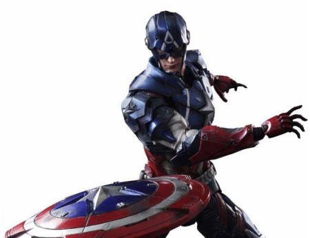 Captain America Variant Play Arts Marvel Universe Square Enix pics 20