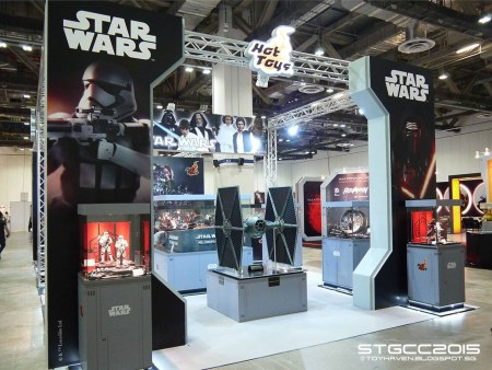 STGCC 2015: stand Hot Toys a Singapore