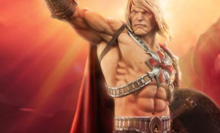 Sideshow: He-Man Statue Master of the Universe – Immagini ufficiali