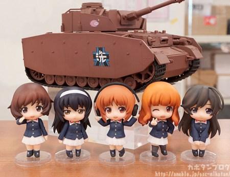 Nendoroid MOre Panzer IV Ausf D H Spec Girls und Panzer gallery 21