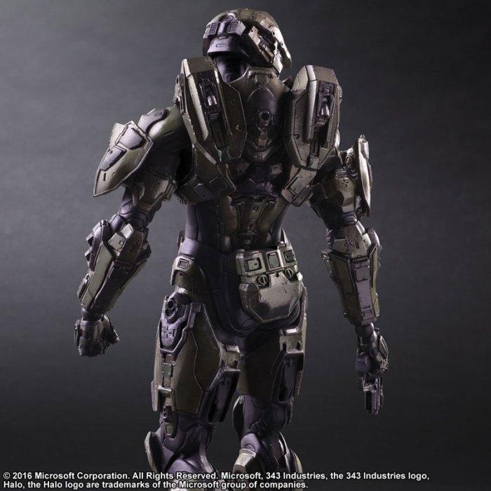 Halo 5 Guardians Master Chief - Play Arts Kai Square Enix pre 02